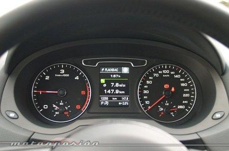 Audi Q3 quattro prueba interior 05