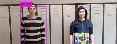Un simple parche de colores permite engañar a las cámaras de vigilancia con IA para que no detecten personas en una imagen