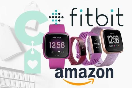 Selección de relojes y pulseras de actividad Fitbit a precios ajustados en Amazon