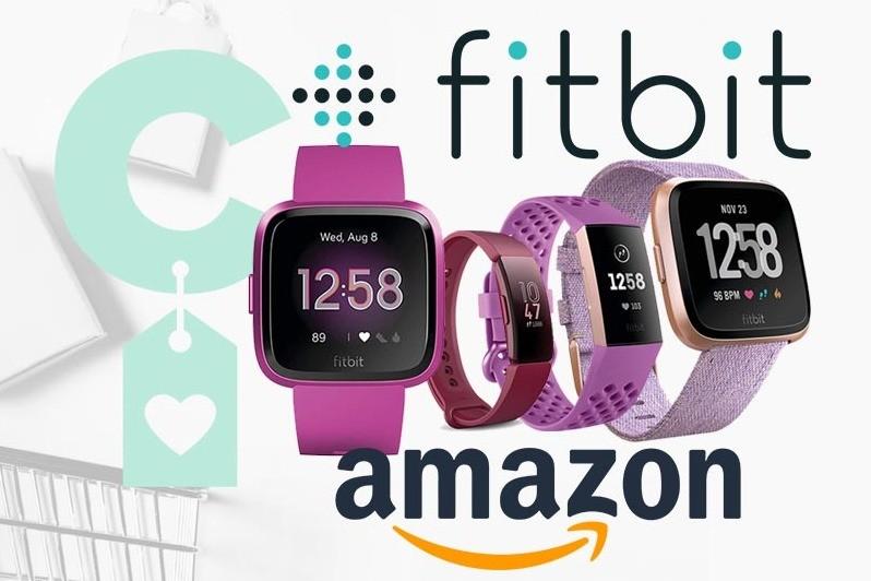 Selección de relojes y pulseras Fitbit en Amazon, para pagar