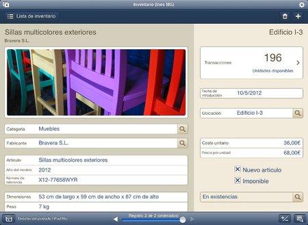 FileMaker en iPad