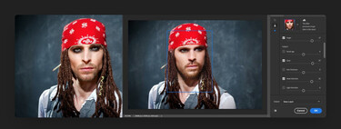 Los nuevos 'Neural Filters' de Photoshop pueden transformar la edad, expresión, pose, y hasta la mirada del sujeto de una foto