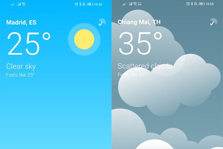 AniWeather es una nueva aplicación del tiempo minimalista, con buen diseño y gratis