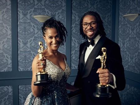 Karen Toliver Y Matthew A Cherry Ganadores Del Oscar A Mejor Cortometraje De Animacion