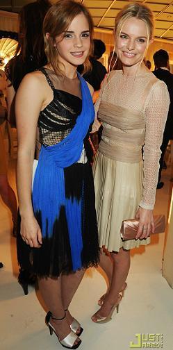 Emma Watson y Kate Bosworth en la cena de gala de Rodarte