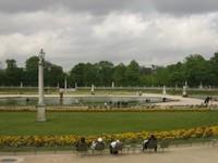 Palacio y jardines de Luxemburgo, París