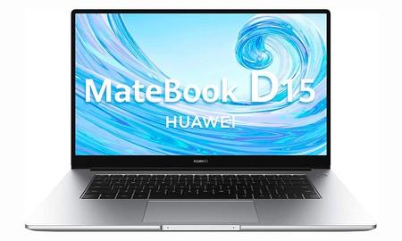 Los Días sin IVA de Huawei te dejan un portátil ligero y de gama media como el MateBook D 15 a un precio de risa: sólo 523 euros