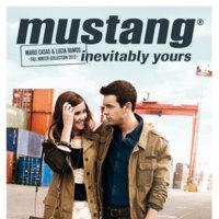 Mustang campaña Otoño-Invierno 2012/2013: Mario y Lucía, pareja del otoño