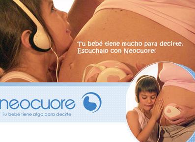 """Neocuore, """"Tu bebé tiene algo para decirte, escúchalo"""""""