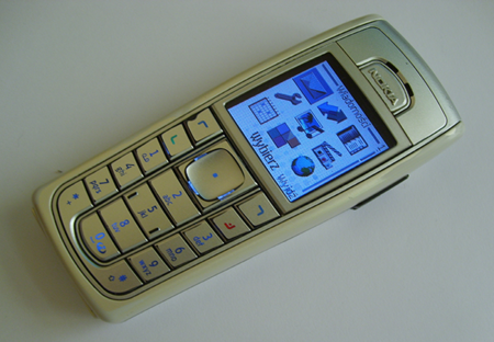 Nokia 6230 con reproduccion de MP3