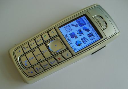Nokia 6230 con reproduccion de MP3