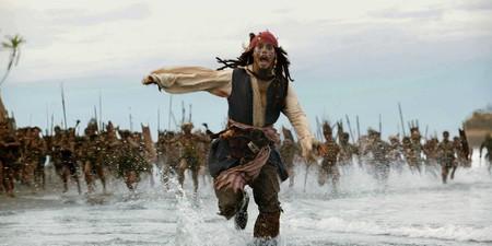 Jack Sparrow huyendo de su futuro