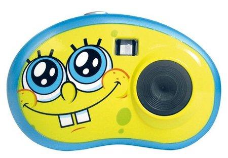 Sonríe a Bob Esponja: cámara para que los niños comiencen en la fotografía