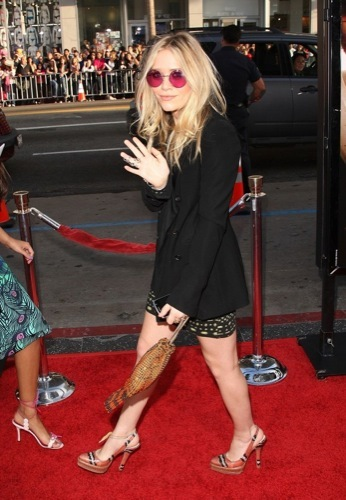 El estilo grunge por Mary-Kate y Ashley Olsen, tendencia 2009 VII