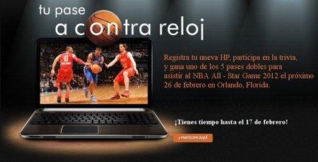 HP te invita al juego de estrellas de la NBA 2012