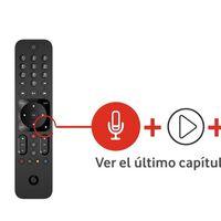 El mando con control por voz de Vodafone TV ahora es gratis: 40 euros de ahorro para las nuevas altas con televisión