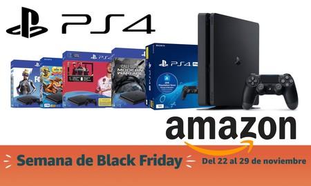 Black Friday 2019: packs PS4 rebajados en Amazon. La consola de Sony, más barata que nunca