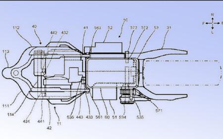 Yamaha Tmax Scooter Hibrida Patente 2020 2
