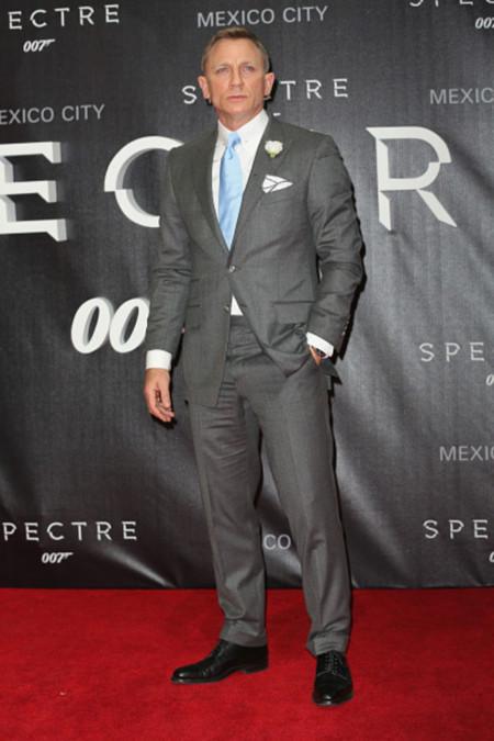 Daniel Craig Spectre Premiere En Mexico
