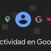 La página de 'Mi actividad en Google' recibe el tema oscuro
