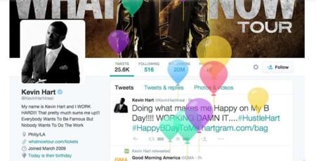 Twitter permitirá a los usuarios contar a sus seguidores cuándo es su cumpleaños