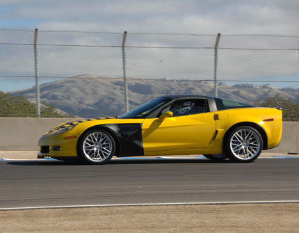 Más Chevrolet Corvette ZR-1 en Laguna Seca