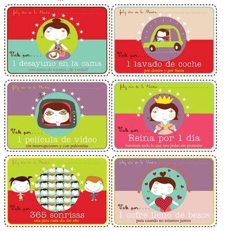 Día de la Madre: vales gratis para mamá