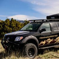 Nissan Destination Frontier: una pick-up preparada para la aventura, que de momento es un one-off