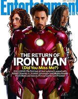 'Iron Man 2', primeras imágenes de Scarlett Johansson como Black Widow