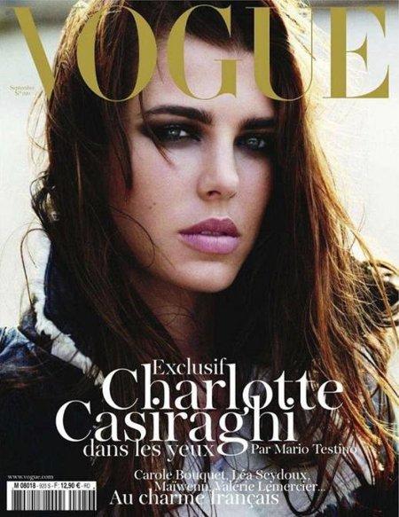 Charlotte Casiraghi y Mario Testino juntos... ¡Para Vogue France!