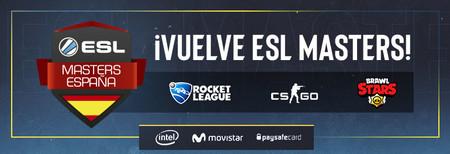 ESL Masters España vuelve en 2019 con Brawl Stars y Rocket League como principales novedades, pero pierde Rainbow Six