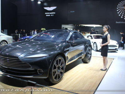 Aston Martin confirma el paso a producción del DBX, y aunque nos duela no nos extraña