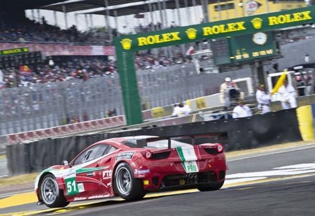 Ferrari entra en el Mundial de GT
