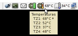 Computer Temperature Monitor