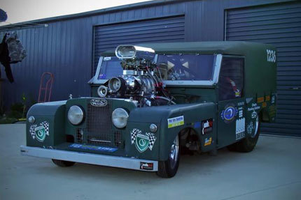 Locura dragsteriana: Land Rover Defender Series I