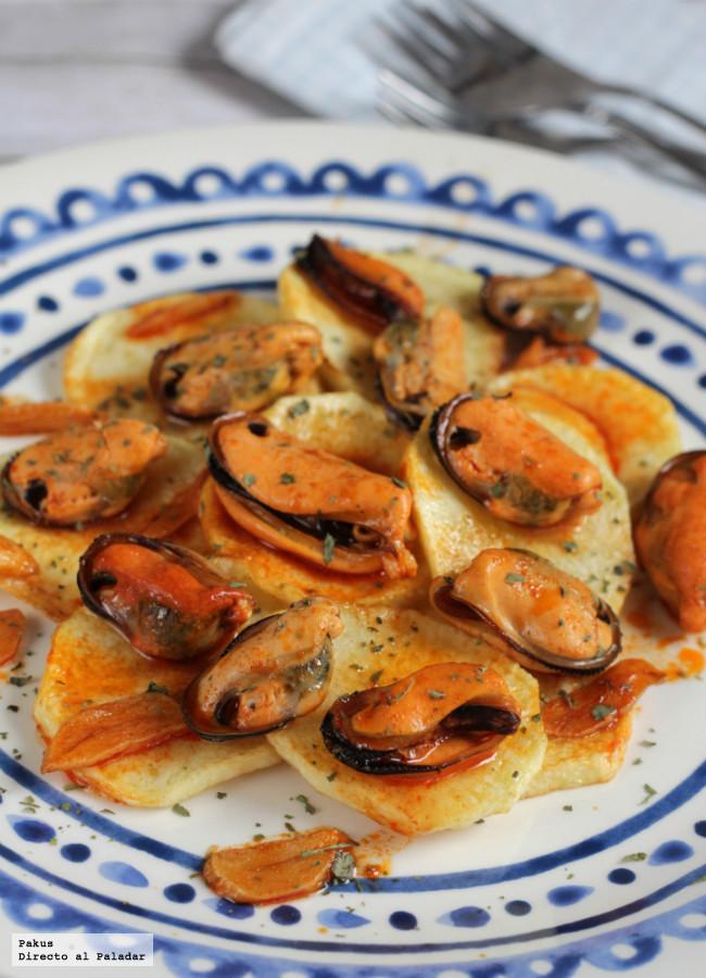 Las diecinueve mejores recetas para cocinar con mejillones for Platos para aperitivos