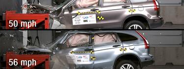 La abismal diferencia de chocar sólo 10 km/h más rápido, en video: cuando ni cinco estrellas garantizan seguridad