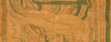 Toda la historia de la humanidad, representada a modo de sistema fluvial en un mapa del siglo XIX