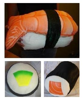 Sushi pillow: ataca de nuevo, y más...