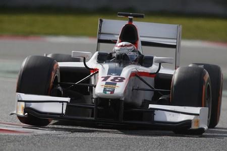 Stefano Coletti marca el mejor tiempo del último día de pruebas de la GP2 en Barcelona