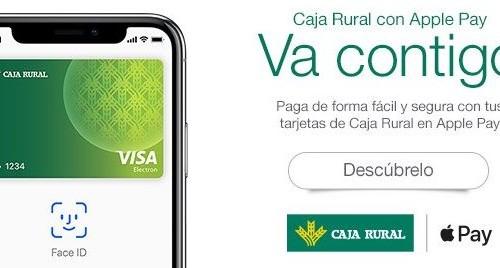 Apple Pay aterriza en Caja Rural desde hoy mismo (EVO Banco también)