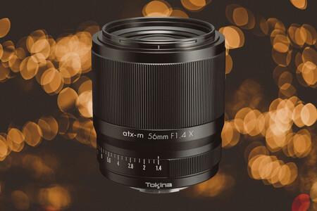 Tokina atx-m 56 mm F1.4 X: un teleobjetivo corto diseñado para vídeo en sistemas APS-C de Fujifilm