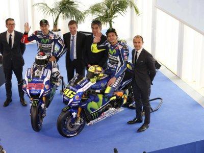 Movistar Yamaha MotoGP. Una presentación con optimismo, preocupación por las gomas y cosas del pasado