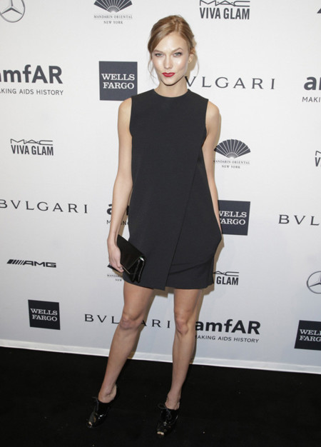 Karlie Kloss peor amfAR 2014