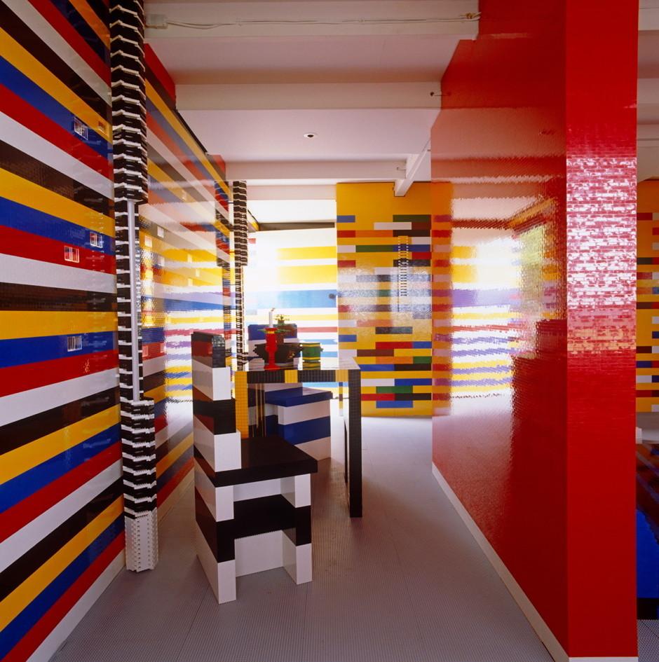 Una auténtica casa Lego