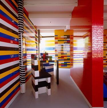 No sólo son para jugar, los bloques de Lego también sirven para decorar