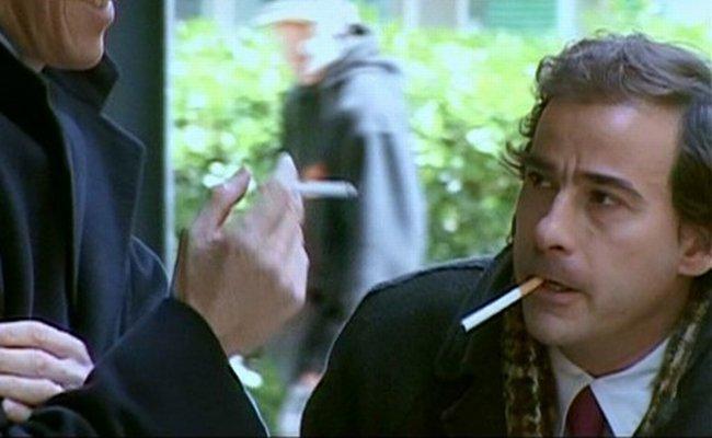 Eduard Fernández en 'Smoking Room'