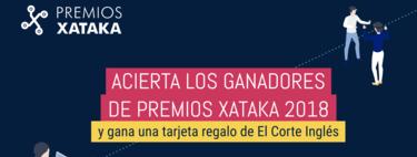Acierta los ganadores de los Premios Xataka 2018 y consigue tarjetas de regalo de El Corte Inglés