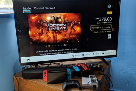 Modern Combat Blackout Switch Mexico Disponible