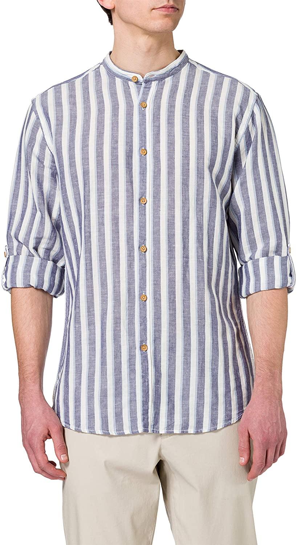 Springfield Camisa Rayas Hombre